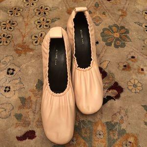 Celine Soft Pink Ballerina Heels